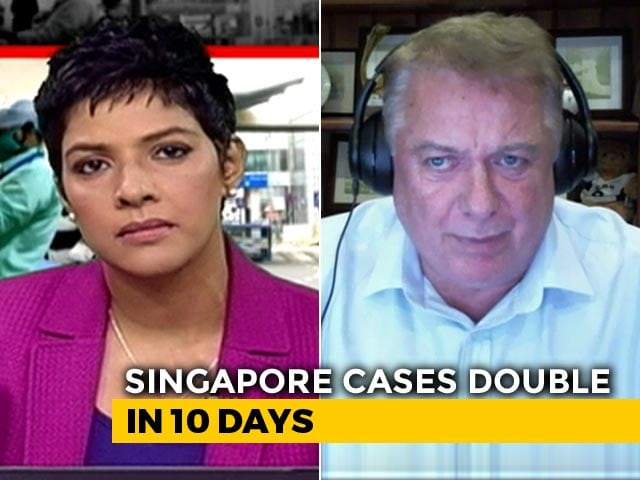 Video : Singapore To Go Under 1 Month Lockdown From Tuesday