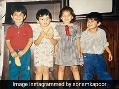Sonam Kapoor's Childhood Pictures Prove That She Was A Stylish Kid