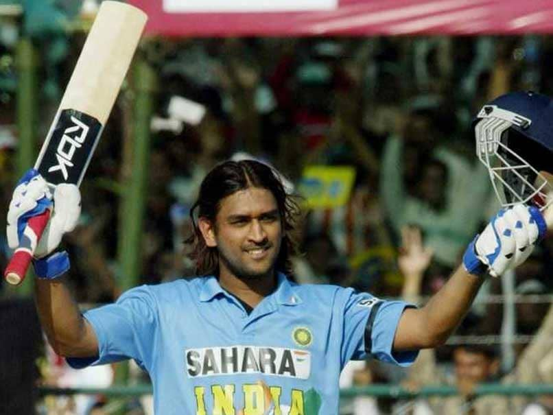 On This Day: MS Dhoni Scored His First International Century In 2005