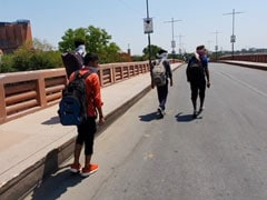 4 Desperate UP Students Brave Heat, Lockdown To Walk Over 500 km Home