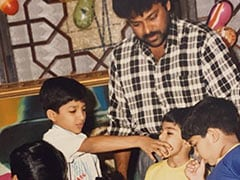 This Birthday Party Throwback Pic Of Allu Arjun, Ram Charan And Chiranjeevi Is All About Nostalgia