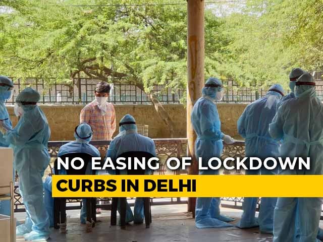 Video : 38 Patients From Same Place In Third-Biggest COVID-19 Hotspot In Delhi