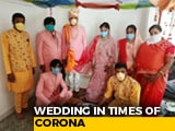 Video : Marriage In The Time Of COVID-19: Sanitisers, Masks At Indore Function
