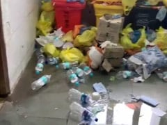 Garbage Mounds Seen In UP COVID-19 Hospital, Filmed Reportedly By Patient