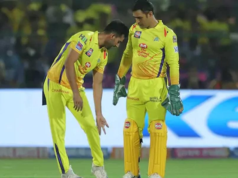 """MS Dhoni """"Has Lost Touch"""", Cant Play PubG That Well Now, Reveals Deepak Chahar"""