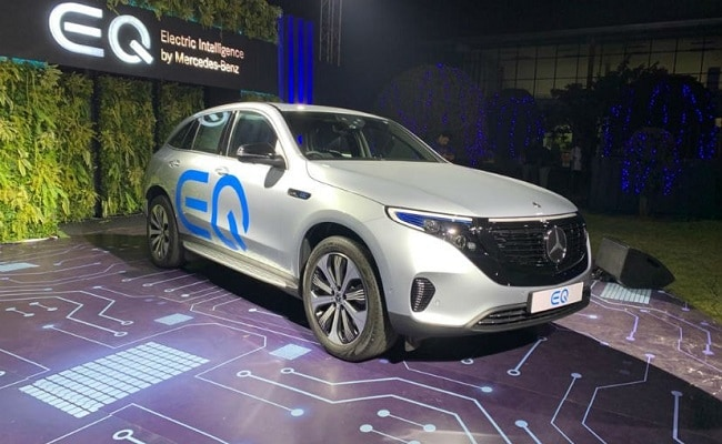 The Mercedes-Benz EQC will be the first all-electric vehicle from the German carmaker in India