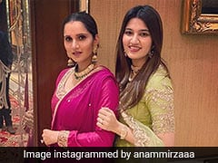 Sania Mirza Dropped A Hilarious Comment On Sister's <i>'Bala'</i> Dance Video