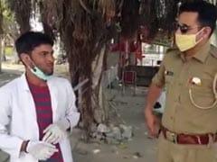 लॉकडाउन में घूमने के लिए डॉक्टर का स्वांग! पुलिस ने युवक को गिरफ्तार करके जेल भेजा