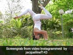 जैकलीन फर्नांडिस ने इस अंदाज में किया शीर्षासन, वायरल हुआ वीडियो, जानें शीर्षासन के फायदे