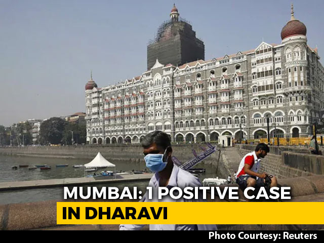Video : One Tests Positive For Coronavirus In Mumbai's Dharavi, Building Sealed