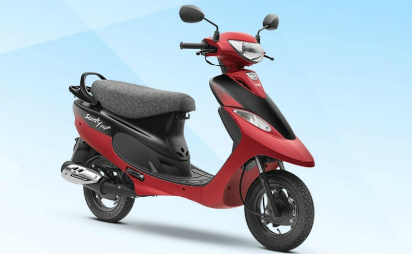 The BS6 Scooty Pep Plus gets two new colour schemes, Aqua Matte and Coral Matte