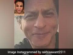शाहरुख खान के साथ फेक Photo शेयर कर बुरी फंसी राखी सावंत, सोशल मीडिया यूजर्स ने यूं लगाई क्लास