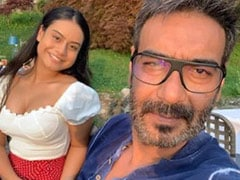 "On Her Birthday, Nysa, Ajay Devgn And Kajol Are ""Staying Home, Staying Safe"". See Pic"