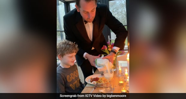 Man Organises Dinner Party At Home For Kids, Internet Goes Awwww