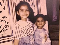 "This Throwback Pic Of  ""Big Sister"" Sonam Kapoor With Rhea Is All About Sibling Love"