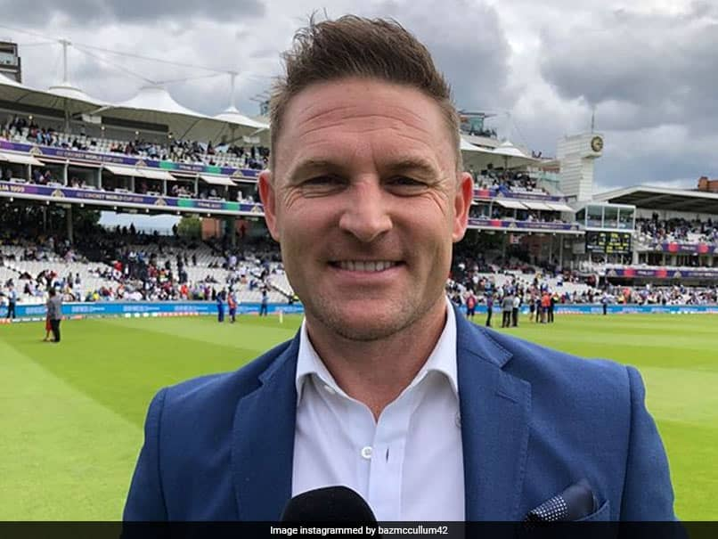 Brendon McCullum Suggests Postponement Of T20 World Cup To 2021 With IPL Taking Its Slot