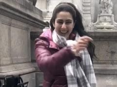 सारा अली खान न्यूयॉर्क की सड़कों पर मस्ती में नाचती आईं नजर, Video शेयर कर कही यह बात
