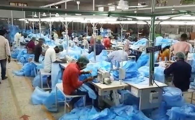 कोरोना से जंग : हर दिन ढाई लाख PPE किट, 2 लाख N-95 मास्क बना सकते हैं घरेलू उद्योग- GoM को दी गई जानकारी