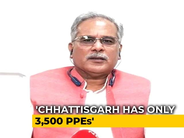 Video : In Chhattisgarh, We Are Feeding 2.5 Lakh People Daily, For Free: Bhupesh Baghel