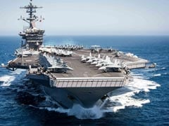 Two US Navy Carrier Groups Conduct Joint Operations In South China Sea