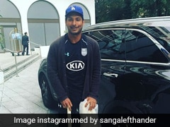 "Kumar Sangakkara Gets Nostalgic As Mark Waugh Flaunts His ""Arsenal Of Weapons"""