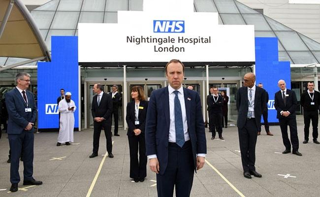 UK Opens 4,000-Bed Coronavirus Hospital Built In 9 Days