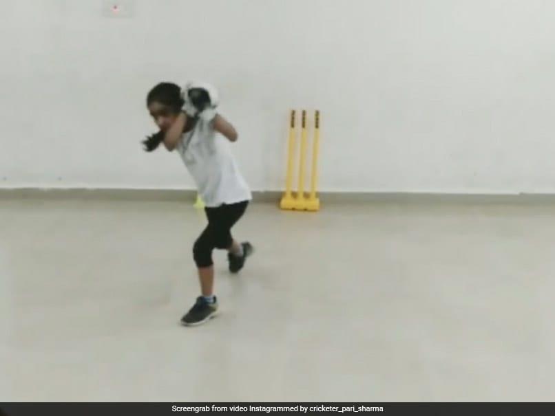 Indian Girls Batting Skills Wows Shai Hope, Michael Vaughan