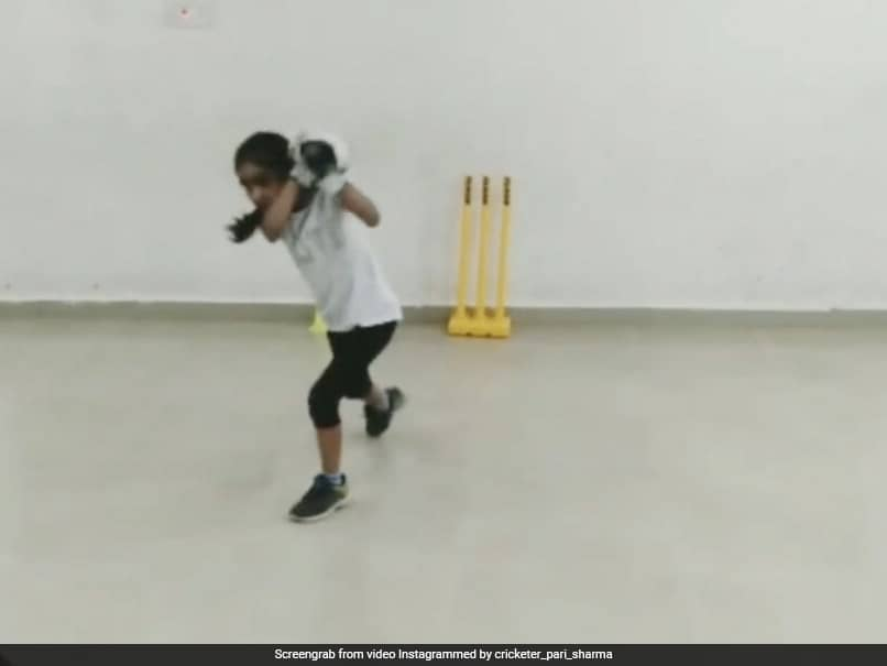 Indian Girls Batting Skills Wows Shai Hope, Michael Vaughan