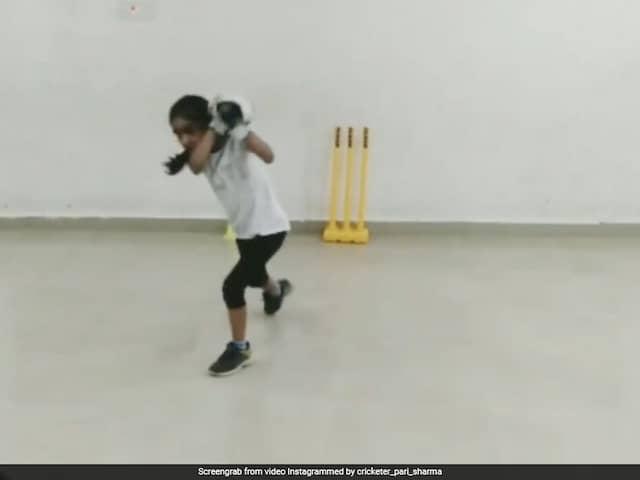 Indian Girls Batting Skills Wow Shai Hope, Michael Vaughan