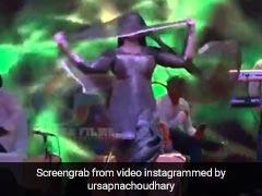 सपना चौधरी ने घूंघट में किया धमाकेदार डांस, देसी क्वीन के Video ने उड़ाया गरदा