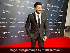 "Rohit Sharma Describes Cristiano Ronaldo As ""The King"" Of Football"