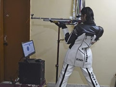 Dont Try This At Home: Indian Shooter Uses Flat As Makeshift Range