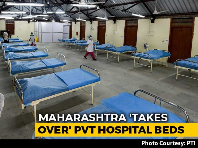 Video : Maharashtra Takes Control Of 80% Of Private Hospital Beds, Caps Rates
