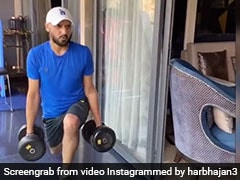 """Building Kampp Rayi Aa"": Virat Kohli's Hilarious Take On Harbhajan Singh's Workout Video"