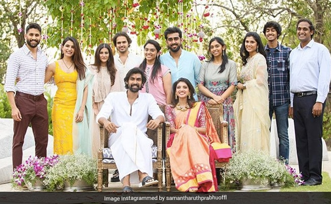 'Best News Of 2020': Samantha Ruth Prabhu Shares Family Pic From Rana Daggubati And Miheeka Bajaj's Engagement