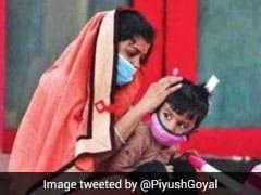 रेल मंत्री पीयूष गोयल ने प्रवासी मजदूरों को लेकर किया एक और ट्वीट, दी ये अहम जानकारी