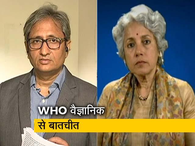 Videos : रवीश कुमार का प्राइम टाइम: क्या WHO ने लॉकडाउन  का सुझाव दिया है ?