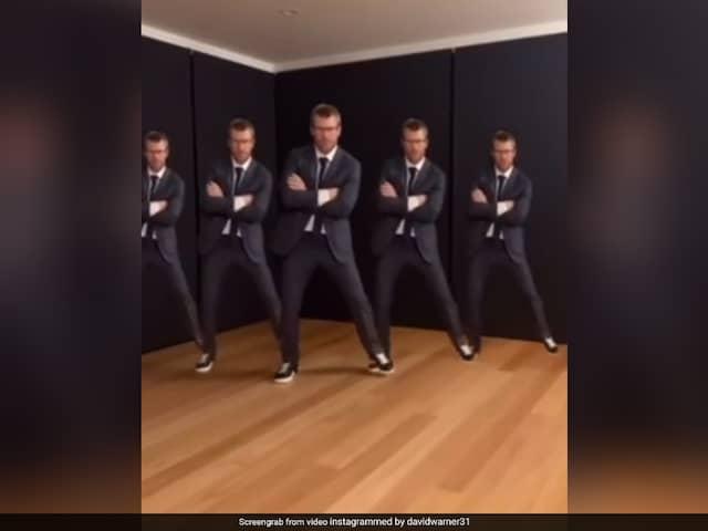 """I Think Ive Got You Covered Akshay Kumar"": David Warner Does Famous Bollywood Dance Step"