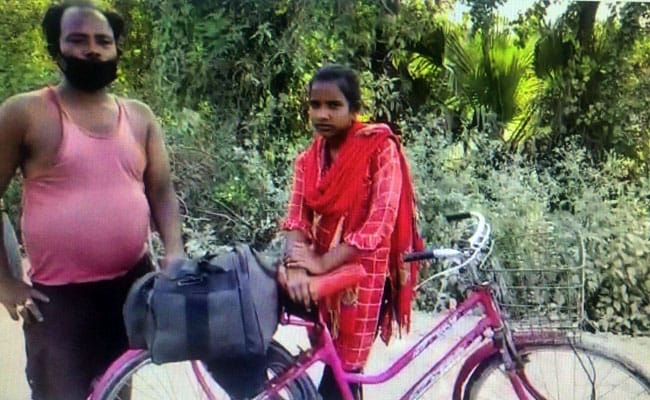 'She's My Shravan Kumar': Teen Cycles 1,200 Km, Gets Injured Father Home