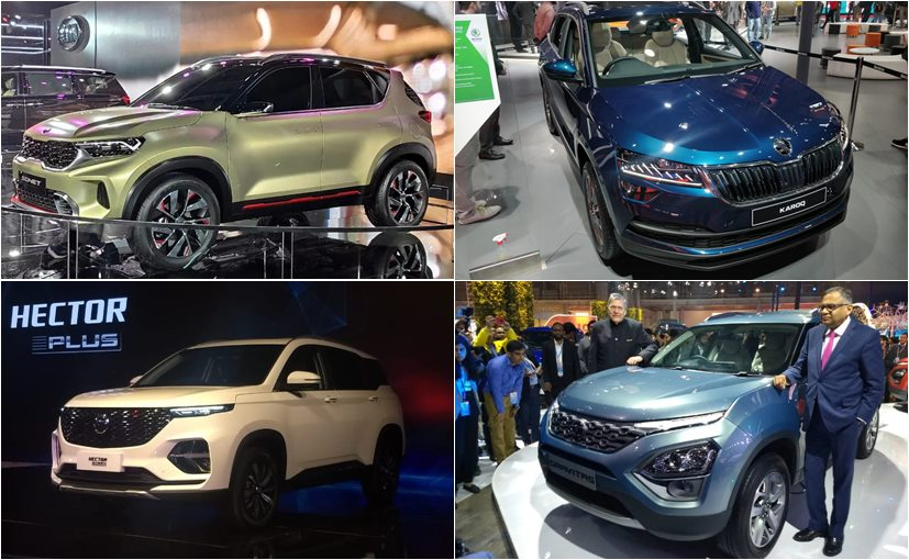 From the subcompact Kia Sonet to the 7-seater Tata Gravitas, here are upcoming SUVs under Rs. 20 lakh