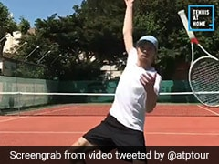"ATP Tour Shares Never Seen Before ""Serve"" Video To Send Twitter Into A Spin"