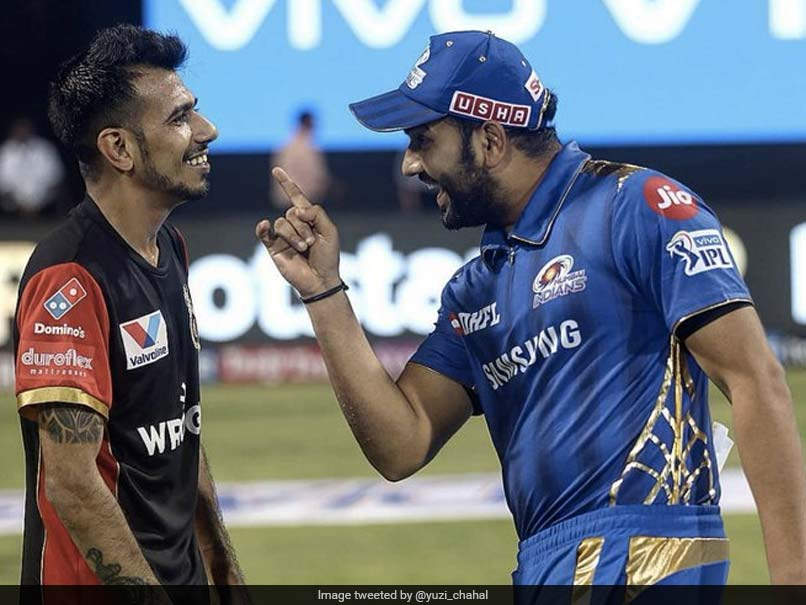 Yuzvendra Chahal, Rohit Sharmas Camaraderie On Display In This Throwback Picture