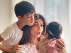 On Mother's Day, Shilpa Shetty Shares A Glimpse Of Daughter Samisha