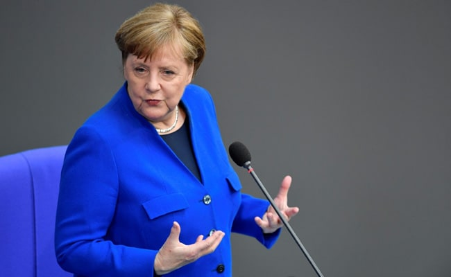 Angela Merkel Receives AstraZeneca Covid Vaccine