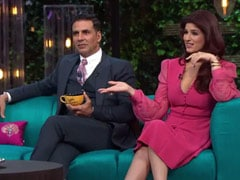 This Old Video Of Twinkle Khanna And Akshay Kumar From Karan Johar's <I>Koffee With Karan</I> Will Leave You In Splits