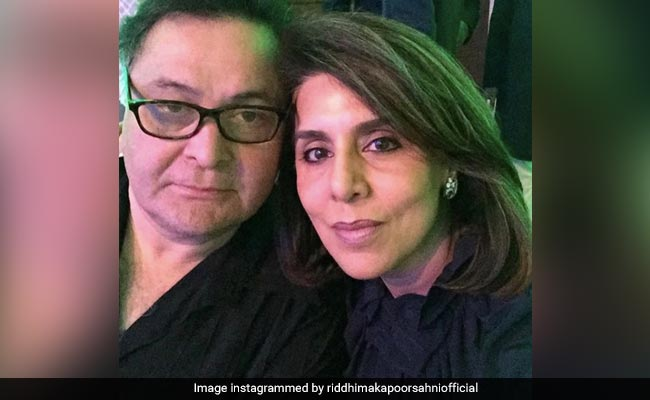 Rishi And Neetu Kapoor, In Another Pic From Riddhima's Throwback Treasury