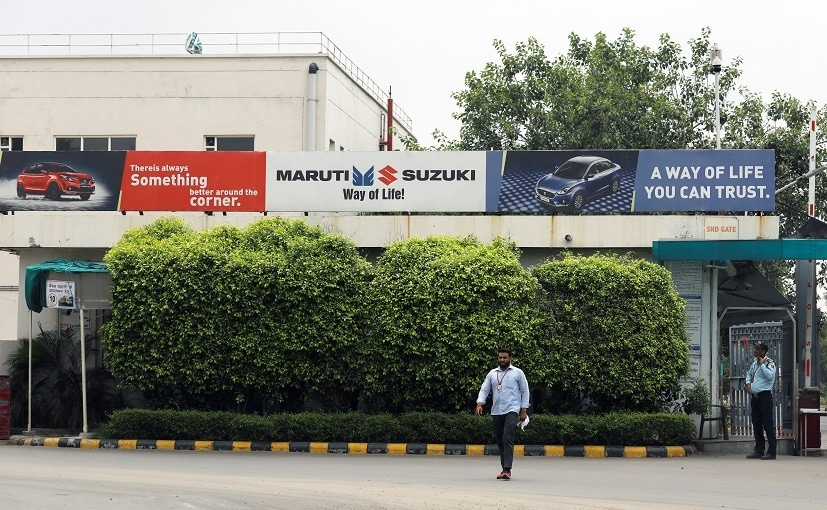 Maruti resumed production at the Manesar plant last week