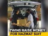 Video : Delhi Twins, Class 11 Students, Raise Money For Hazmat Suits, PPE Kits
