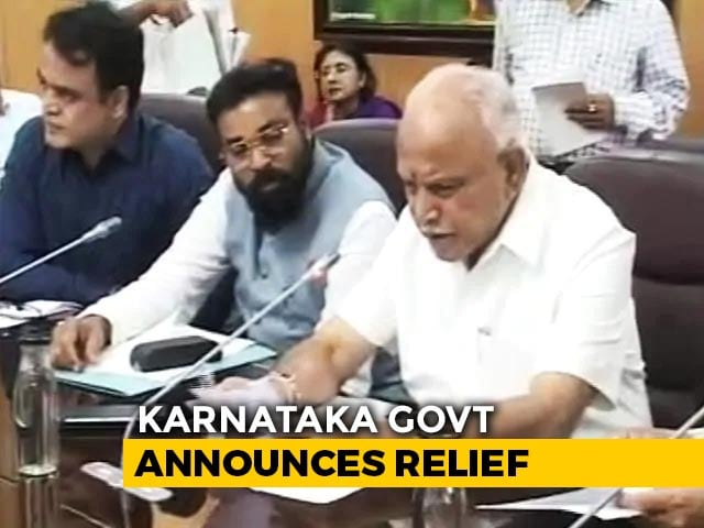 Video : Karnataka's Rs. 1,600-Crore Lockdown Relief, Rs. 5,000 For Dhobis, Barbers