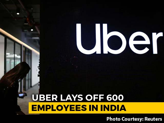 Video : Uber India Lays Off 600 People, A Quarter Of Its Workforce In The Country